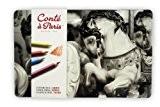 Conté à Paris 500016 Boîte de 24 Crayons Pastels Couleurs Assorties