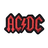 coolpart ACDC AC/DC Music Band Logo Heavy Metal Rock Punk Music Band Logo Patch à coudre Patch Fer Sur brodé ...