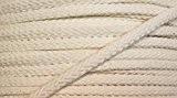 Corde en coton, 5 m, 6 mm, blanc cassé