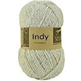 Coton à tricoter INDY 016 Naturel