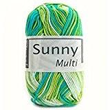 Coton à tricoter SUNNY MULTICO 472 Nil multi