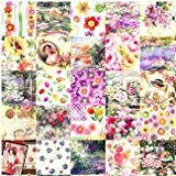 coton fabric Fleur sewing craft top quality cotton fat quarter DIY 25 pcs