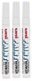 Couleur Uni Taille M (2,2-2,8mm) PX-20Stylo blanc marqueur peinture à huile en métal verre en plastique en bois Pierre Extérieur ...