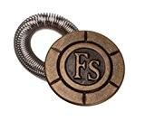 Couture mercerie: bouton extension rallonge ressort 2,5 cm pour pantalon motif FS