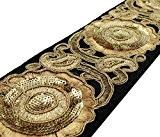 Couture Tissu Garniture En Dentelle Brodée Crafting 6,85 Cm De Large Fournitures Par 1 Jardin