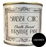 Craie pour meubles Noir réglisse à peinture Idéal pour créer un style shabby chic style. 125 ml