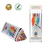 Crayons de Couleur Kasimir 48-Couleurs Coloré Crayons Professionnel de Haute Qualité Artiste Sketch Dessin Crayons Dessin Coloré Crayons de Coloriage ...