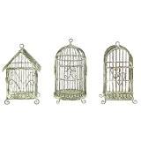 Creative Coop 12,7cm H Mini Cage à oiseaux à suspendre en fil métal