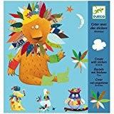 Créer ou dessiner avec des stickers Animaux de Djeco pour enfants dès 4 ans