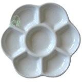 Curtisward artistes classique en porcelaine Blanc Daisy Palette.