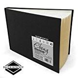 Daler Rowney-Ébène de couverture rigide carnet de croquis Artiste-150g/m²-62pages-A5paysage