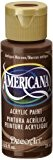 DecoArt Americana Peinture acrylique multi-usages, marron antique