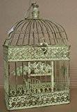 """Décoration de cage à oiseaux style cage à oiseaux style antique patiné shabby style maison de campagne """"cage vK4RH nostalgie""""-cR, ..."""