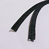DENIM à embase Insert Cordon de passepoil-2mm-Indigo 100% coton Bleu ou Noir-Au Mètre, Jean Coton, noir, 2 mm