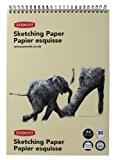 Derwent Feuilles de Papier Esquisse A4 (lot de 30)