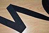 designers-factory - Ruban élastique noir, largeur 40mm (au mètre)