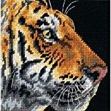 Dimensions Kit Canevas, Le Profile Du Tigre