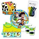 Disney Toy Story Star Power Party Tableware Pack for 8 by The Partyware Shop