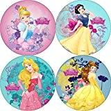 Disque azyme diamètre 21cm Princesses Disney pour décoration de gâteau à l'unité modèle selon disponibilité- Les gourmandises de Heidi