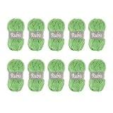 Distrifil - 10 pelotes de laine à tricoter Distrifil RUBIS 1968 pas cher 100% acrylique - 1463.1968