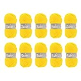 Distrifil - 10 pelotes de laine à tricoter Distrifil RUBIS 3006 pas cher 100% acrylique - 1463.3006