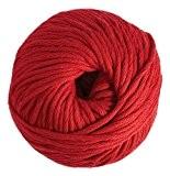 DMC fil Natura, 100% coton, couleur 05Rouge, XL