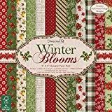 Dovecraft Tapis de fleurs d'hiver, papier, multicolore, 8x 8x 20cm