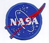 """Écusson brodé Ecussons Thermocollants Broderie Sur Vetement Ecusson """" NASA"""" Militaire, Armée"""
