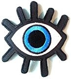 "ecusson patch badge applique thermocollant enfant bebe femme fille ecusson thermocollant "" l oeil 7 x 7,5 cm"""