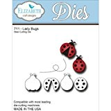 Elizabeth Craft Designs Craft die-ladybugs en métal