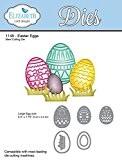 """Elizabeth Craft Designs """"Œufs de Pâques"""" Die, en métal, gris"""
