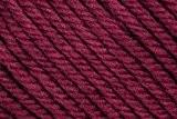 """En laine mérinos 100 g """"maxi""""-couleur :  bordeaux - 23 schnellstrickgarn d'- douce épais meinoanteil un très haut."""