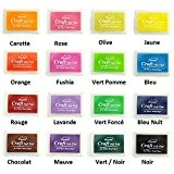 Encreur Encre Grand Format - XXL Tampon Flashy Multicolore Neuf - ROSE