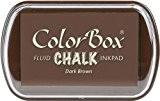 Encreur Marron Foncé ColorBox Chalk 6,3 x 10 cm