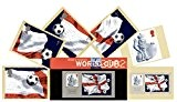 Ensemble de cadeau de 2002 coupe du monde de football Royal Mail Tampon de présentation et phq Lot de 6 cartes (Cartes ...