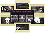 Ensemble de cadeau de 2016 Agatha Christie - de la Présentation de la Reine de crime et phq Royal Mail Lot de 6 cartes ...