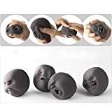 EQLEF® 1pcs drôle de nouveauté japonaise Cadeau Gadgets Vent humain Visage Balle Anti Stress Scented Caomaru Toy Geek Gadget Vent ...