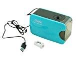 erofa Taille crayon électrique, automatique, fonctionne à piles ou alimentation USB compact pour la maison, le bureau et l'École