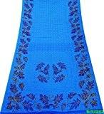 ethnique robe 5 km saree de cru indien mélange soie sari artisanat tissu femmes