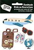 Express Yourself Stickers pour loisirs créatifs Thème voyage