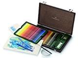 Faber-Castell 117513 Crayons de couleur aquarellables Albrecht Dürer, coffret bois de 48
