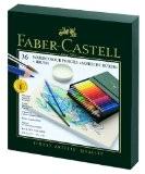 Faber-Castell 117538 Crayons de couleur aquarellables Albrecht Dürer studio, box de 36