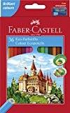 Faber-Castell 120136 Crayons de couleur Castle, étui de 36