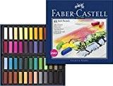 Faber-Castell 128248 Demi pastel carre tendre boîte de 48