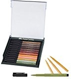 Faber-Castell 267422 Box PITT artist pen brush 12x terr