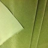 Fat Quarter (50x 60cm) Vert prairie coton velours Tissu d'ameublement vraiment Somptueux?: par mètre... 330g/m², 120cm de large