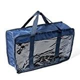 Fat Quarter Bleu marine et sac de rangement
