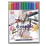Feutres Vifs Aquarelle - ZIG Art & Graphic Twin