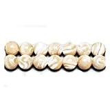 Fil De 95+ Crème Nacre 4mm Perles Rond - (GS11455-2) - Charming Beads