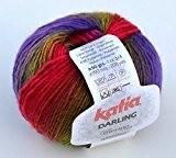 Fin de darling merinogarn katia-multicolore - 208